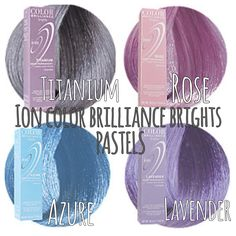 Love pastel hair color! Only $5-6 from Sally's Beauty Supply, way cheaper than manic panic and lasts longer as well