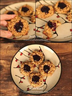 21 Day Fix: Peanut Butter and Jelly Cookies (PB&J Cookies) | From Forks to Fitness