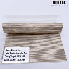 New jacquard zebra roller blind UNZ21-001 | Screen fabric, Roller blinds - Screen fabric, Roller blinds