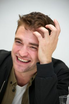 Pin for Later: Here's What 14 Hot Celebrity Guys Would Look Like on a Date With You Robert Pattinson, as He's Trying to Teach You British Slang but You Sound Totally Crazy