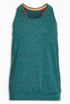 Teal Wrap Back Tech Vest Teal, Turquoise, Workout Wear, Athletic Tank Tops, Turtle Neck, Sweaters, How To Wear, Exercise, Women