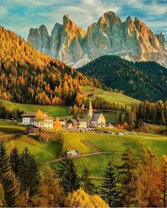 Val di Funes in Italy.