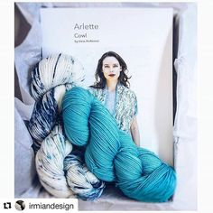 #Repost @irmiandesign (@get_repost) ・・・ As a knitter, there is no better feeling than finishing a project. The quicker you can get from inspiration to yarn and needles, the better. If you're looking for quick and satisfying summer project (travel or otherwise ☺), the 🌟Arlette Kit🌟 is the perfect answer for incorporating one-stop-shopping into your project experience.  Choose from four fabulous color combos of @baahyarn La Jolla (link in bio 👆) . #arlettecowl #knitting #handknitting…