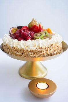 Torte Recepti, Fika, Tartan, Brownies, Breakfast Recipes, Cake Decorating, Cheesecake, Good Food, Food And Drink