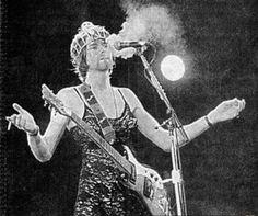 Kurt Cobain in a dress