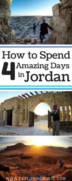 4 Day Itinerary Jordan: