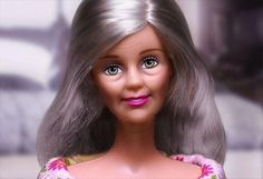 Barbie at 50. It's about time she aged.