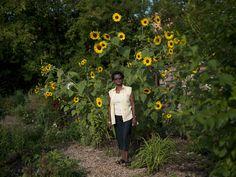 River Garden. Residents of the South Bronx transforming  their environment through gardening.