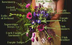 Bouquet Breakdown: Mardi Gras Style Bouquet