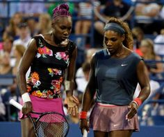 WTA Beijing: Williams sisters ousted in first round, Serena bursts racquet