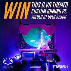 MWAVE & DEERSTALKER - D.Va 'GG' Custom Gaming PC Giveaway