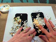 ▶ Tutorial on using the gilding flakes. - YouTube