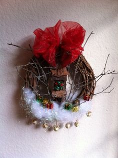 Hobbit House Christmas Wreath by schellercreations on Etsy