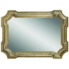 Shop for Bassett Angelica Wall Mirror with Goldtone and Silvertone Resin Frame. Get free shipping at Overstock.com - Your Online Home Decor Outlet Store! Get 5% in rewards with Club O!