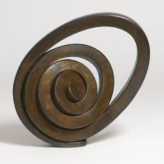 Martín Chirino forged steel sculpture.