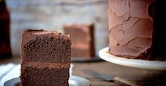 Rich, moist cake made with dark beer.