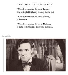 This strangely applies to everything Doctor Who.and I made the exact same face after the second one. .
