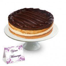 Pleasant Boston Cream Cake Birthday Cake Delivery Cake Delivery Funny Birthday Cards Online Unhofree Goldxyz