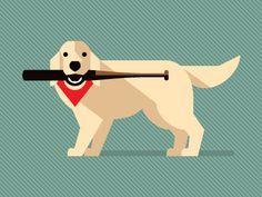 017.diamonddog illustration on dribbble by Studio Simon