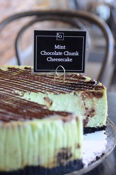 With the comfort of chocolate and the coolness of mint, our current feature – Mint Chocolate Chunk Cheesecake – proves that less is not always more. More is more! #Vancouversbestcheesecake #VancouverCheesecake #VancouverDesserts