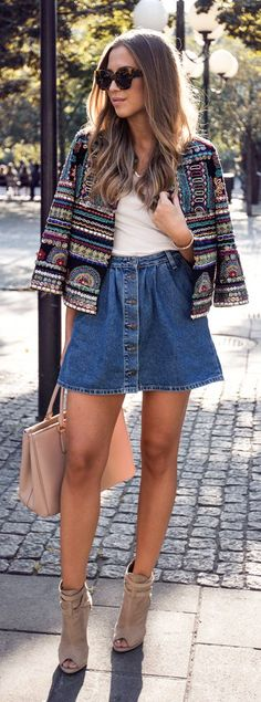 Stylish Chic Fall Outfit Idea by Kenzas