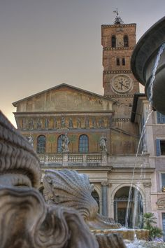 Santa Maria, Trastevere, Rome Lazio
