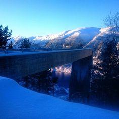The Stegastein Viewpoint today 📷 Mountain S, Winter, Instagram, Winter Time, Winter Fashion