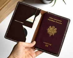 Passport Holder BROWN vegtanned leather Passport от Neptuunfr