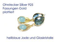 Ohrringe+Blau+von+DeineSchmuckFreundin+-+Schmuck+und+Accessoires+auf+DaWanda.com
