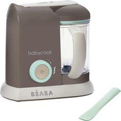 Beaba Babycook solo robot cuiseur-mixeur poudre bleu