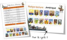 Rallye lecture : Amérique du Nord et Amérique du Sud . Cycles 2 et 3 | Bout de Gomme