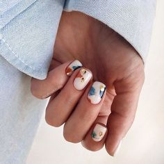 Dream Nails, Love Nails, Pink Nails, How To Do Nails, White Nails, Nail Manicure, Manicures, Gel Nails, Acrylic Nails