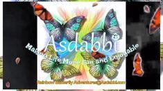 Asdabbi the Rainbow Butterfly