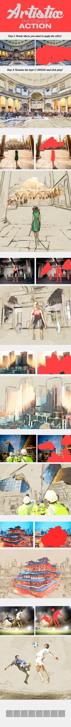 Artistix Photoshop Action #photoeffect Download: http://graphicriver.net/item/artistix/14396919?ref=ksioks
