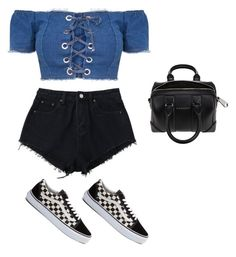 """Untitled #684"" by maritzawaffles on Polyvore featuring Vans and Givenchy"