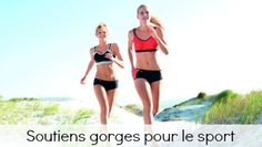 Sublimate your chest by wearing sports bra // Préservez votre poitrine en portant de bons soutien gorges de sport