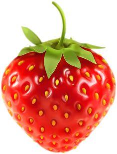 Strawberry Transparent Clip Art Image