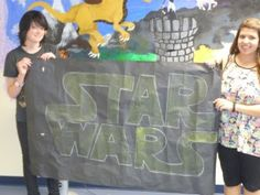 May The Force Be With You: Hosting a Star Wars Event. Library Work, Teen Library, Library Ideas, Teen Programs, Library Programs, Star Wars Birthday, Star Wars Party, 100 Years Celebration, Star Wars Classroom