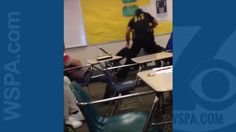 AFRICAN AMERICAN REPORTS: Video shows school resource officer slamming, dragging student out of desk