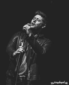 Jensen Ackles singing