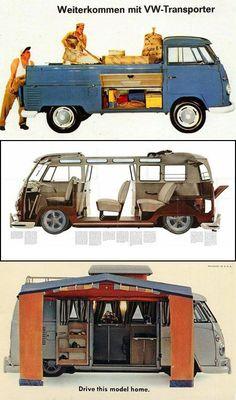 Volkswagen Diversity #Cars-Motorcycles