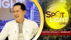 Watch another episode of Pastor Apollo C. Quiboloy's newest program, SPOTLIGHT. For your messages and queries, you can comment it down below so our Beloved P. Spiritual Enlightenment, Spirituality, Sad Crush Quotes, Kingdom Of Heaven, New Program, T Lights, December 12, Son Of God, Music Publishing