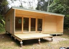Cabin Life AU- Affordable Housing Custom Java Cabin - $15,000 kit $20,000 to lockup.