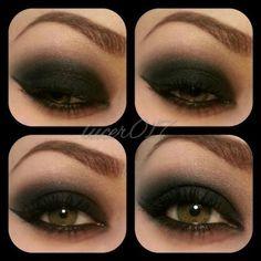 Love black eyeshadow