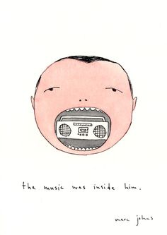 "Marc Johns: ""the music was inside him"" tattoo - Soraii from Portugal"