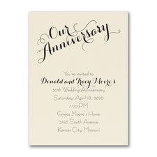 Exclusive wedding anniversary invitation designs currently discount to per party invite. Create lifetime memories with our trendy anniversary party invitations. Wedding Anniversary Invitations, Wedding Party Invites, Anniversary Parties, Invitation Wording, Invitation Design, Invitation Cards, Free Wedding, Personalized Wedding, Place Card Holders