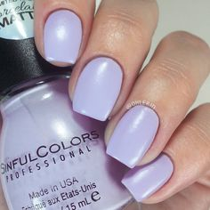 Fussy formula, easy to ruin. Sinful Colors, Nail Colors, Clean Face, Gorgeous Nails, Mani Pedi, Ruin, Swatch, Diva, Nail Polish