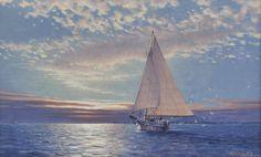 Chesapeake Dawn – John M. Barber Art