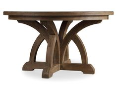 Hooker Furniture Dining Room Corsica Round Dining Table w/1-18in Leaf 5180-75203