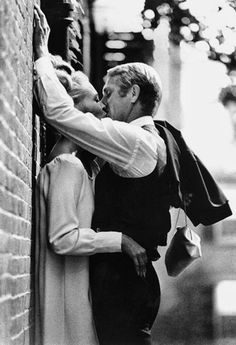 Faye Dunaway and Steve McQueen - The Thomas Crown Affair [1968]